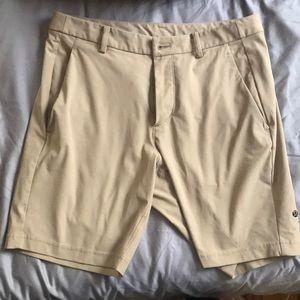 Size 34 Lululemon Commissioner Shorts